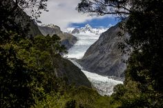 Fox Glacier - losing weight can seem as slow as the ice moving!