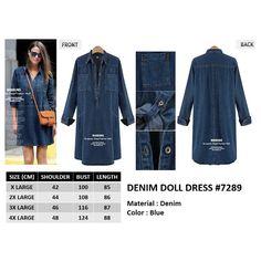 DENIM DOLL DRESS