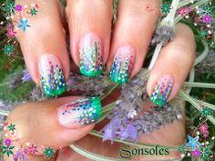 Skeleton nails #nail #nails #nailart