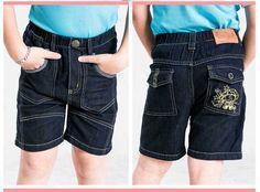 Free Shipping Boy Summer Jeans COOL Kids Summer Hot Shorts K0834