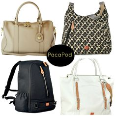 Pacapod Diaper Bags for the uber #organized mom.