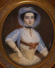 Arlesienne woman by Antoine RASPAL (1738-1811)