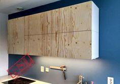 Ikea kast met deuren op maat van underlayment Info: info@atelier-sl.nl en www:atelier-sl.nl