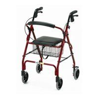 GetGo Classic Walker - Burgundy - A14099 02 by Generic. $114.95. Nova Cruiser Deluxe Classic Rollator Walker We've carefully selected the Nova Cruiser Deluxe Classic Walker due its very lightweight frame and durability. For those with a weak grasp or back pain can transport the walker with ease. Weighing only 13 pounds it's easy to place in the back of your car. The Nova cruiser deluxe classic is the lightest 4-wheeled walker available with hand brakes. This ver...