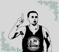 Stephen Curry Decal Silhouette Under Armour for your Car, Walls, Laptops, iPhone, iPad and Water bottles. by SCDBiz on Etsy