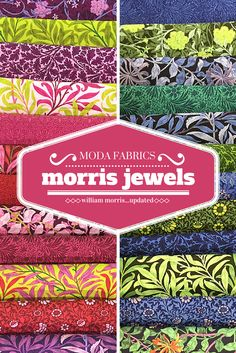 Shop Moda Morris Jewels by Barbara Brackman