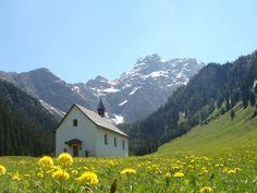 Nenzing, Kapelle Hl. Rochus (Nenzinger Himmel Naturpark, Bludenz) Vorarlberg AUT