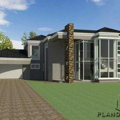 5 bedroom Single Story House Floor Plan | Home Designs | Plandeluxe 4 Bedroom House Designs, 4 Bedroom House Plans, Garage House Plans, Ranch House Plans, Craftsman House Plans, House Plans For Sale, House Plans With Photos, Dream House Plans, Modern House Plans