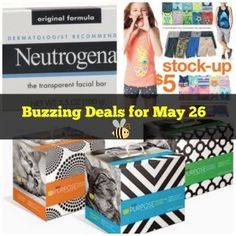 Buzzing Deals for May 26 – Mama Bees Freebies