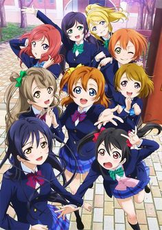 Love Live! School Idol Project Anime Added by NIS America