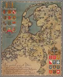 Afbeeldingsresultaat voor oude kaart nederland