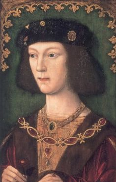 Henry VIII, c1509, unknown artist. This is the earliest surviving portrait of Henry as king of England.