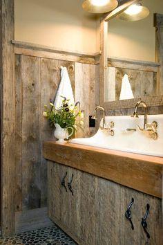 20 Extra Rustic Bathroom Designs 5