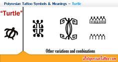 Polynesian Tattoo Symbols & Meanings – Turtle