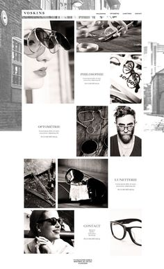 Websites Design / VOSKINS on Behance
