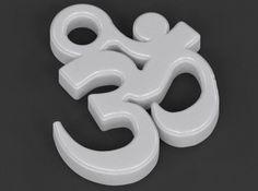 Om Pendant (Devanagari) by luxxeon #om #pendant #jewelry #3d #3dprinted #ohm…