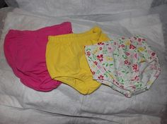 3 pair of newborn to 3 months diaper covers by KelleysKreationsLV, $12.95