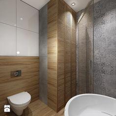 Mała łazienka 1 - Średnia łazienka na poddaszu w bloku w domu jednorodzinnym, styl klasyczny - zdjęcie od All Design Agnieszka Lorenc