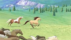 spirit stallion of the cimarron Spirit The Horse, Spirit And Rain, Horse Animation, Horse Books, Old West, Horse Art, Disney And Dreamworks, Movie Characters, Disney Stuff
