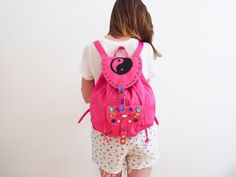 DIY 90s Backpack - grab a backpack (old or new),... - Quality Waffle
