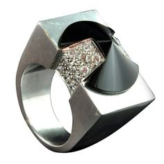 Beautiful architectural ring