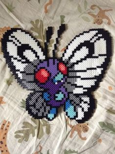 Your place to buy and sell all things handmade Diy Perler Bead Crafts, Diy Perler Beads, Perler Bead Art, Pearler Beads, Melty Bead Patterns, Pearler Bead Patterns, Perler Patterns, Beading Patterns, Pixel Beads