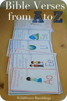 A to Z Bible Verses