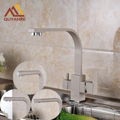 Reviews New Design Deck Mounted Kitchen Sink Faucet Pure Water Tap Faucet with Dual Waterout Spout Mixer Faucet ⛅ Shop New Design Deck Mounted Kitchen Sink Faucet Pure W Before buy  New Design Deck Mounted Kitchen Sink Faucet Pure Water Tap Faucet with  Details : http://shop.flowmaker.info/sQFbq    New Design Deck Mounted Kitchen Sink Faucet Pure Water Tap Faucet with Dual Waterout Spout Mixer FaucetYour like New Design Deck Mounted Kitchen Sink Faucet Pure Water Tap Faucet with Dual…