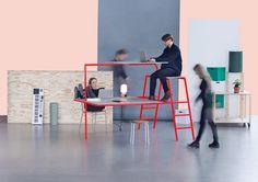 小さなオフィスと小さな予算のためにデザインされたスペース有効活用型オフィス家具「New Order」 - THE BRIDGE(ザ・ブリッジ)