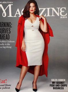 Ashley Graham en Une du Sunday Times - Le Mag Castaluna - Blog mode grande taille