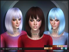 The Sims Resource: Nightcrawler - Silver • Sims 4 Downloads