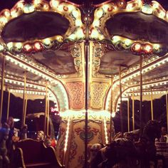 Carousels are my most favourite thing in the world.