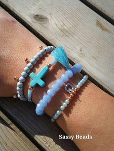 Ibiza bracelet iceblue-aqua