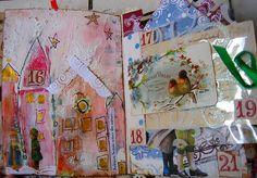 la magie de Noël - pages 8 et 9 by Francoise MELZANI, via Flickr