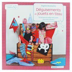 """Livre """"Déguisements et jouets en tissu"""""""