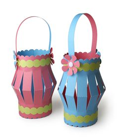 Lantern craft baskets