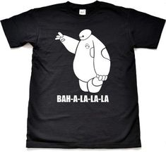 Big Hero Six Baymax Ba La La La Adult or by PantomimeClothing