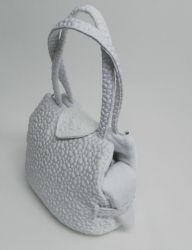 Eh Gia Heart's Bag White Hondendraagtas