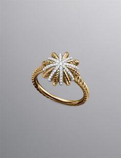David Yurman Starburst ring!! LOVE it!