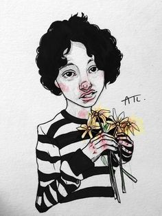 Finn Wolfhard by Annabel Trixi Lawrence