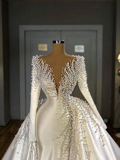 Wedding Dress Mermaid Lace, Fancy Wedding Dresses, Princess Wedding Dresses, Colored Wedding Dresses, Elegant Wedding Dress, Mermaid Dresses, Boho Wedding, Dress Lace, Lace Mermaid