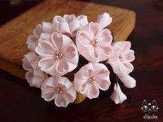 ひと房の桜❀春の香りに誘われて。 ⋞ピンク⋟ ミニコーム画像1