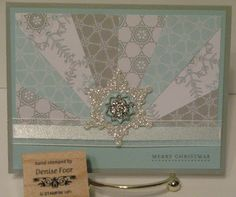 Festive Flurry | Denise Foor Studio PA by Sue Lepako Stampin' Up!