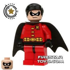 site:minifigures.com | LEGO Super Heroes Minifigure – Robin | LEGO Minifigures Guide