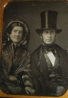 Mr. and Mrs. Eben Bailey - Daguerreotype | Mr. and Mrs. Eben… | Flickr