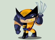 Logan/Wolverine by Ivan Camelo (so cute! Wolverine Comics, Marvel Comics, Logan Wolverine, Marvel Comic Universe, Comic Book Artists, Comic Book Characters, Marvel Characters, Comic Character, Comic Books Art