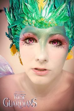 I made a make-up test for Toothiana from Rise of the Guardians. But I think I'll do it yet subtle   Me as Toothiana  Photo/Edit by Me