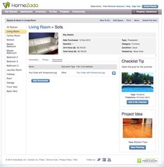Item documents. A great way to keep important paper work safe and easily accessible  #HomeZada
