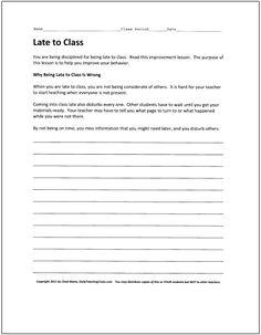 Student behavior essays