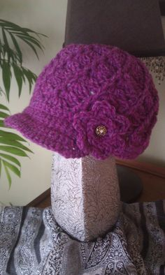 Twirl Hat with Brim for Women and Teens by PrettyCraftyCuties, $25.00